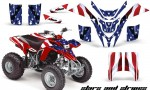 Yamaha Blaster AMR Graphics Kit StarsStripes Red 150x90 - Yamaha Blaster 200 YFS200 Graphics
