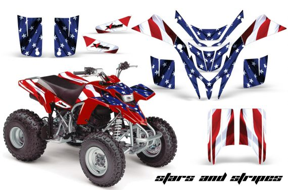 Yamaha Blaster AMR Graphics Kit StarsStripes Red 570x376 - Yamaha Blaster 200 YFS200 Graphics