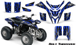 Yamaha Blaster CreatorX Graphics Kit Bolt Thrower Blue 150x90 - Yamaha Blaster 200 YFS200 Graphics
