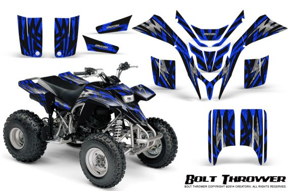 Yamaha Blaster CreatorX Graphics Kit Bolt Thrower Blue 570x376 - Yamaha Blaster 200 YFS200 Graphics