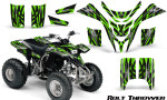 Yamaha Blaster CreatorX Graphics Kit Bolt Thrower Green 150x90 - Yamaha Blaster 200 YFS200 Graphics