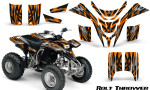 Yamaha Blaster CreatorX Graphics Kit Bolt Thrower Orange 150x90 - Yamaha Blaster 200 YFS200 Graphics