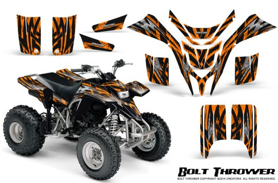 Yamaha Blaster CreatorX Graphics Kit Bolt Thrower Orange 570x376 - Yamaha Blaster 200 YFS200 Graphics