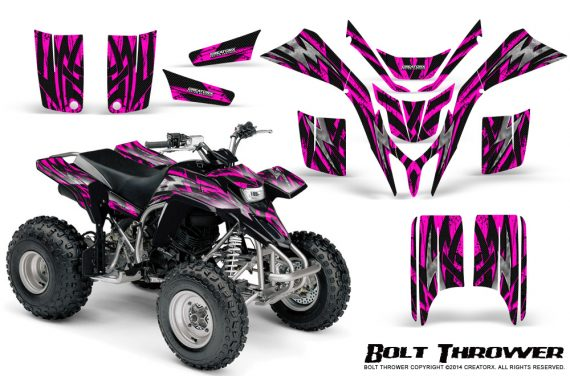 Yamaha Blaster CreatorX Graphics Kit Bolt Thrower Pink 570x376 - Yamaha Blaster 200 YFS200 Graphics