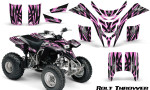 Yamaha Blaster CreatorX Graphics Kit Bolt Thrower PinkLite 150x90 - Yamaha Blaster 200 YFS200 Graphics