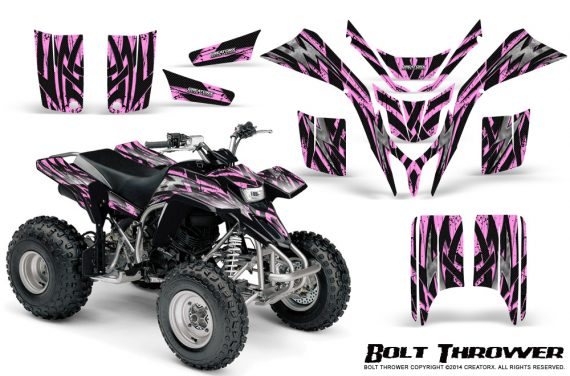 Yamaha Blaster CreatorX Graphics Kit Bolt Thrower PinkLite 570x376 - Yamaha Blaster 200 YFS200 Graphics