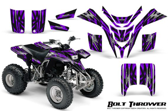 Yamaha Blaster CreatorX Graphics Kit Bolt Thrower Purple 570x376 - Yamaha Blaster 200 YFS200 Graphics