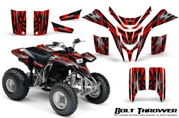 Yamaha Blaster CreatorX Graphics Kit Bolt Thrower Red 570x376 - Yamaha Blaster 200 YFS200 Graphics