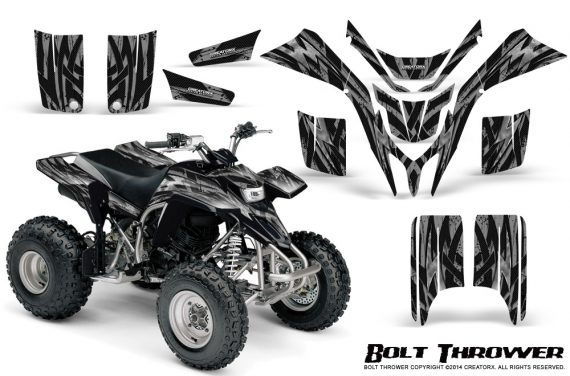 Yamaha Blaster CreatorX Graphics Kit Bolt Thrower Silver 570x376 - Yamaha Blaster 200 YFS200 Graphics