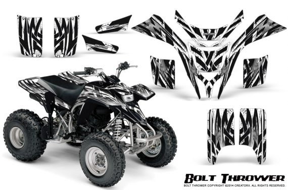 Yamaha Blaster CreatorX Graphics Kit Bolt Thrower White 570x376 - Yamaha Blaster 200 YFS200 Graphics