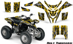 Yamaha Blaster CreatorX Graphics Kit Bolt Thrower Yellow 150x90 - Yamaha Blaster 200 YFS200 Graphics
