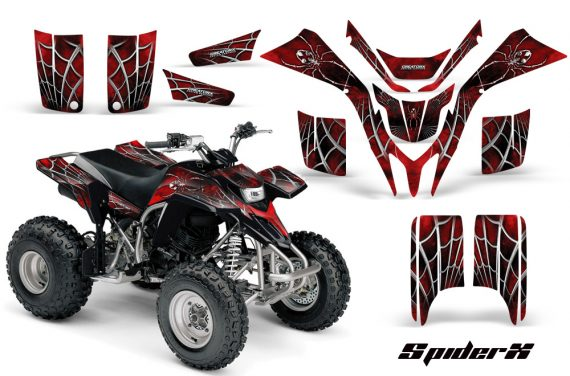 Yamaha Blaster CreatorX Graphics Kit SpiderX Red 570x376 - Yamaha Blaster 200 YFS200 Graphics