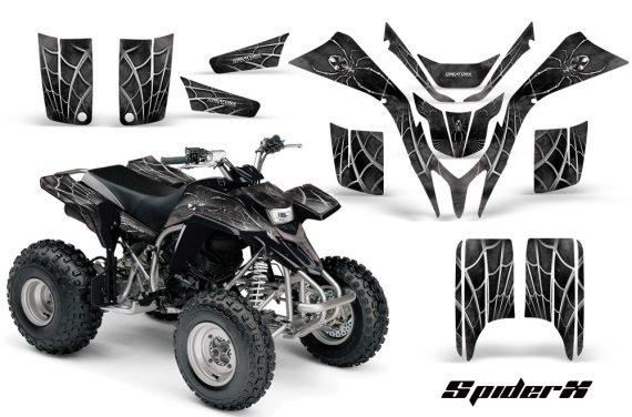 Yamaha Blaster CreatorX Graphics Kit SpiderX Silver 570x376 - Yamaha Blaster 200 YFS200 Graphics