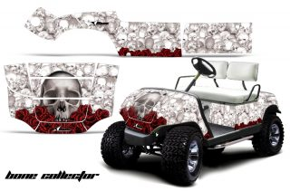 Yamaha Golf Cart AMR Graphics Kit BC W 320x211 - Yamaha 1995-2006 Golf Cart Graphics