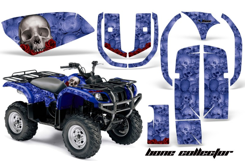 Yamaha-Grizzly-660-AMR-Graphics-Kit-Bones-B