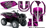 Yamaha Grizzly 660 CreatorX Graphics Kit Bolt Thrower Pink 150x90 - Yamaha Grizzly 660 Graphics