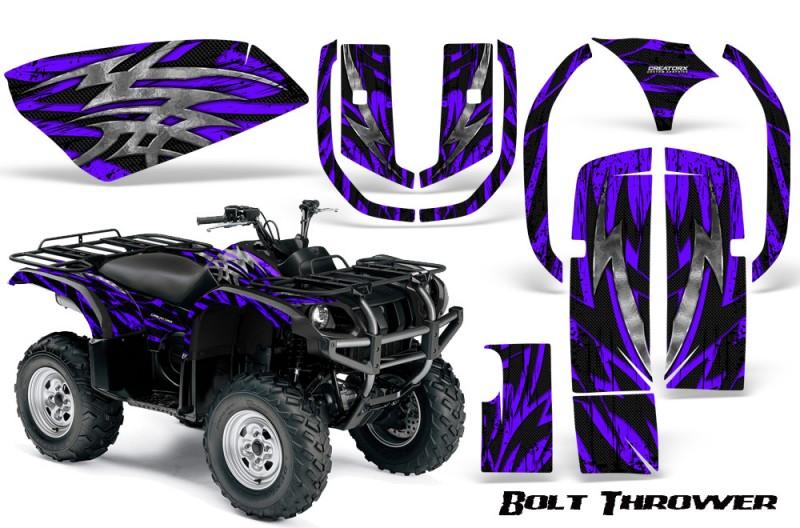 Yamaha-Grizzly-660-CreatorX-Graphics-Kit-Bolt-Thrower-Purple