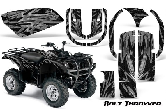 Yamaha Grizzly 660 CreatorX Graphics Kit Bolt Thrower Silver 570x376 - Yamaha Grizzly 660 Graphics
