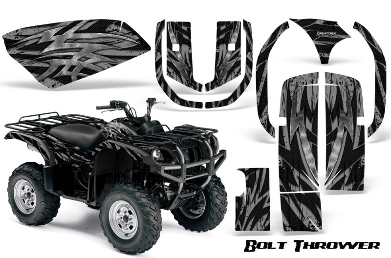 Yamaha-Grizzly-660-CreatorX-Graphics-Kit-Bolt-Thrower-Silver