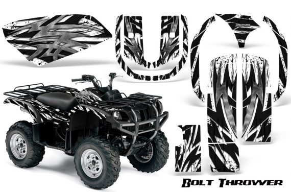 Yamaha Grizzly 660 CreatorX Graphics Kit Bolt Thrower White 570x376 - Yamaha Grizzly 660 Graphics