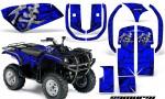 Yamaha Grizzly 660 CreatorX Graphics Kit Samurai Black Blue 150x90 - Yamaha Grizzly 660 Graphics