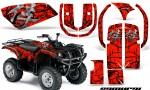 Yamaha Grizzly 660 CreatorX Graphics Kit Samurai Black Red 150x90 - Yamaha Grizzly 660 Graphics