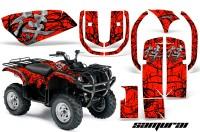 Yamaha-Grizzly-660-CreatorX-Graphics-Kit-Samurai-Black-Red