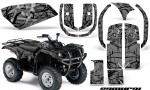 Yamaha Grizzly 660 CreatorX Graphics Kit Samurai Black Silver 150x90 - Yamaha Grizzly 660 Graphics