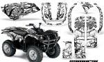 Yamaha Grizzly 660 CreatorX Graphics Kit Samurai Black White 150x90 - Yamaha Grizzly 660 Graphics