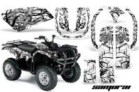 Yamaha-Grizzly-660-CreatorX-Graphics-Kit-Samurai-Black-White