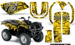 Yamaha Grizzly 660 CreatorX Graphics Kit Samurai Black Yellow 150x90 - Yamaha Grizzly 660 Graphics