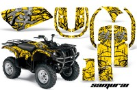 Yamaha-Grizzly-660-CreatorX-Graphics-Kit-Samurai-Black-Yellow