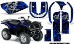 Yamaha Grizzly 660 CreatorX Graphics Kit Samurai Blue Black 150x90 - Yamaha Grizzly 660 Graphics