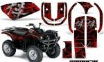 Yamaha Grizzly 660 CreatorX Graphics Kit Samurai Red Black 150x90 - Yamaha Grizzly 660 Graphics