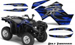 Yamaha Grizzly 700 CreatorX Graphics Kit Bolt Thrower Blue BB 150x90 - Yamaha Grizzly 700/550 Graphics