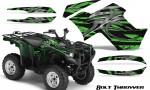 Yamaha Grizzly 700 CreatorX Graphics Kit Bolt Thrower Green 150x90 - Yamaha Grizzly 700/550 Graphics