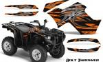 Yamaha Grizzly 700 CreatorX Graphics Kit Bolt Thrower Orange 150x90 - Yamaha Grizzly 700/550 Graphics