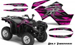 Yamaha Grizzly 700 CreatorX Graphics Kit Bolt Thrower Pink 150x90 - Yamaha Grizzly 700/550 Graphics