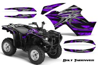 Yamaha-Grizzly-700-CreatorX-Graphics-Kit-Bolt-Thrower-Purple
