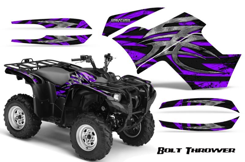 Yamaha-Grizzly-700-CreatorX-Graphics-Kit-Bolt-Thrower-Purple