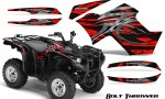 Yamaha Grizzly 700 CreatorX Graphics Kit Bolt Thrower Red BB 150x90 - Yamaha Grizzly 700/550 Graphics