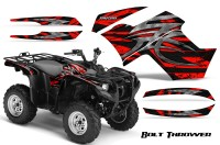 Yamaha-Grizzly-700-CreatorX-Graphics-Kit-Bolt-Thrower-Red-BB