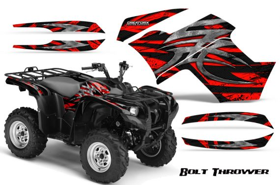 Yamaha Grizzly 700 CreatorX Graphics Kit Bolt Thrower Red BB 570x376 - Yamaha Grizzly 700/550 Graphics