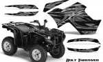 Yamaha Grizzly 700 CreatorX Graphics Kit Bolt Thrower Silver 150x90 - Yamaha Grizzly 700/550 Graphics