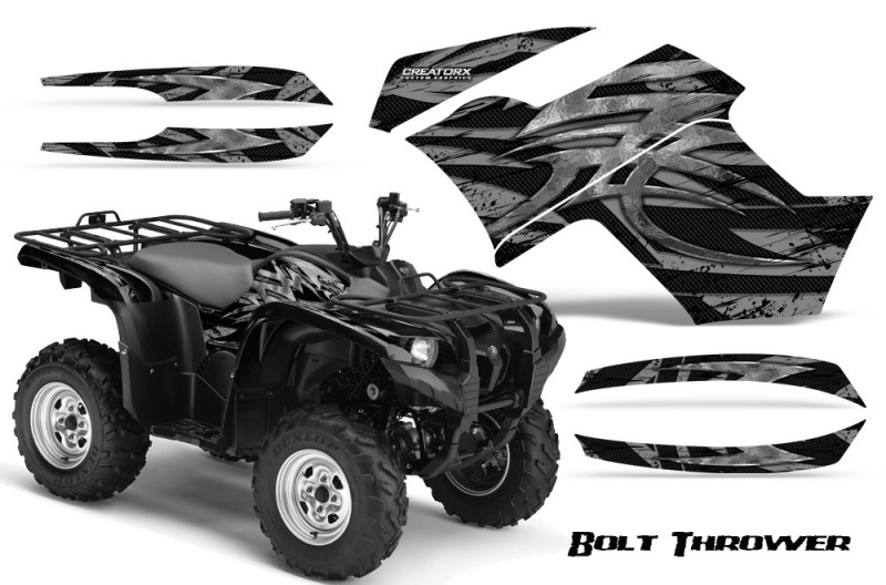 Yamaha-Grizzly-700-CreatorX-Graphics-Kit-Bolt-Thrower-Silver