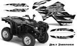 Yamaha Grizzly 700 CreatorX Graphics Kit Bolt Thrower White BB 150x90 - Yamaha Grizzly 700/550 Graphics