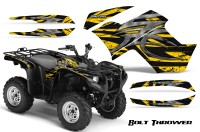 Yamaha-Grizzly-700-CreatorX-Graphics-Kit-Bolt-Thrower-Yellow