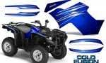 Yamaha Grizzly 700 CreatorX Graphics Kit Cold Fusion Blue 150x90 - Yamaha Grizzly 700/550 Graphics