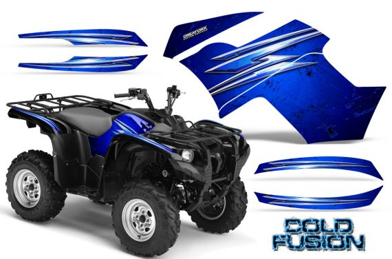 Yamaha Grizzly 700 CreatorX Graphics Kit Cold Fusion Blue 570x376 - Yamaha Grizzly 700/550 Graphics