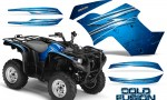 Yamaha Grizzly 700 CreatorX Graphics Kit Cold Fusion BlueIce 150x90 - Yamaha Grizzly 700/550 Graphics